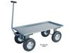 WAGONS WITH STEEL DECK AND SIDES