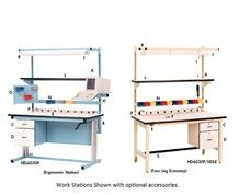 ERGONOMIC WORK STATIONS